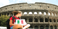 logo corso online italiano